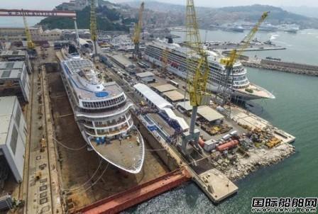 "Fincantieri建造""Viking Jupiter""号邮轮下水"