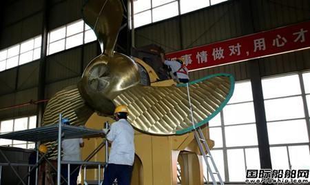 中船绿洲成功研制两型国内首创船舶配套产品