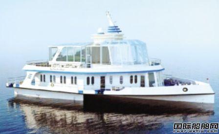 国内首艘内河三体观光船在津完成船体部分建造
