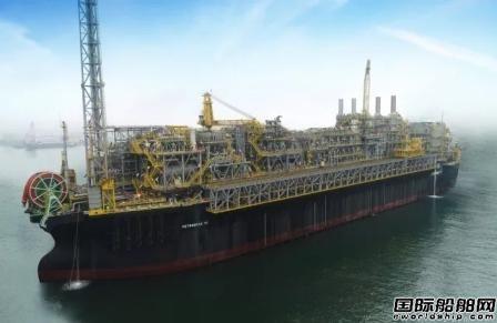中国船厂首个FPSO改装总包项目交付