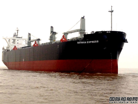 中船澄西获4+4艘木片运输船订单