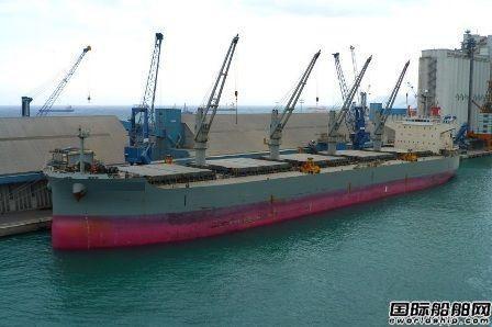 超灵便型散货船价格持续上涨最高涨幅近20%