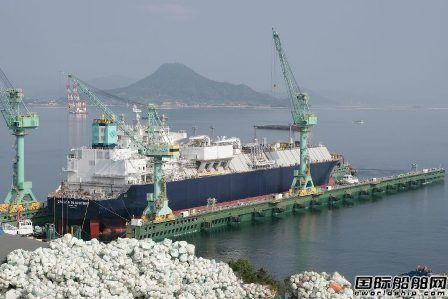 三星重工为GasLog建造一艘LNG船下水