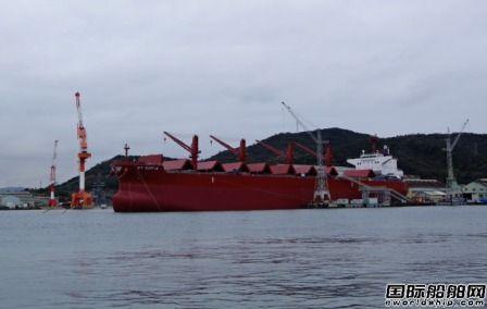 日本船企4月接单量同比大降