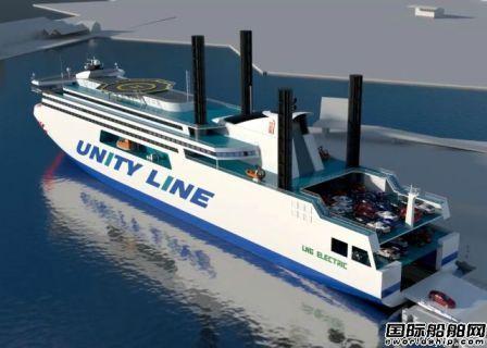 流行风帆动力?NED-Project设计混合动力渡船