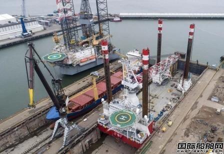 达门Verolme船厂完成自升式平台船改装项目
