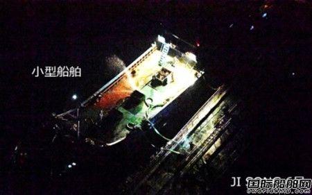 """朝鲜油船疑在东海""""船对船""""走私被日本抓现行"""