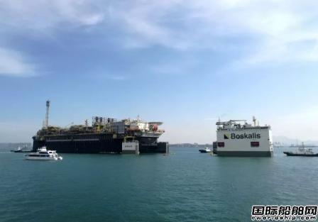 """中国船厂""""快递""""全球最大FPSO到巴西"""