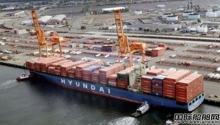 现代商船20艘超大型集装箱船大单计划敲定
