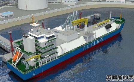 吉宝新满利获1艘LNG供气船订单