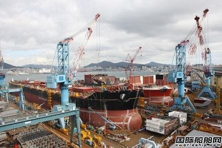 韩进重工计划重新安置釜山影岛船厂