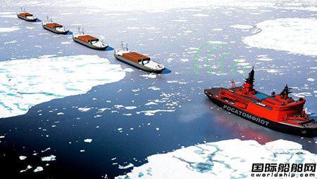 俄罗斯研发核动力无人破冰船