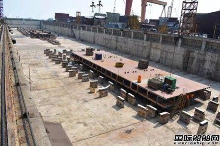 新扬子造船两艘82000吨散货船同日进坞