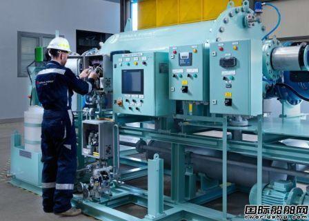 ERMA FIRST为OLDENDORFF首艘船安装压载水系统