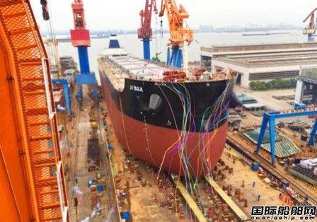中船澄西多艘82000吨散货船完成大节点