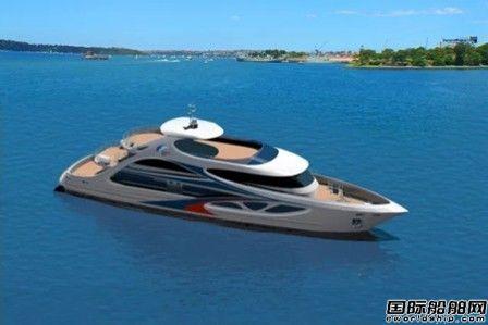 南洋船舶开工建造一艘新型高速客船