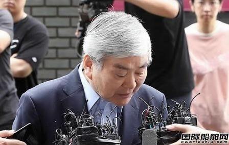 韩进集团会长涉嫌逃税渎职受讯