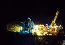 """""""海洋石油285""""船创水下安装史上新纪录"""