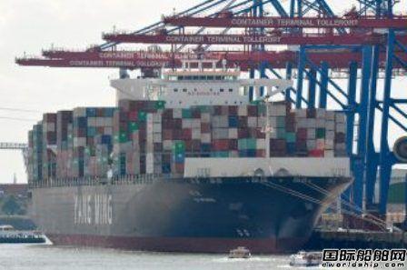 阳明海运签订10艘新造万箱船租约