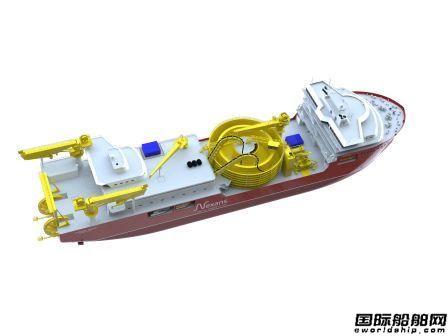 Ulstein Verft获1艘大型DP3电缆敷设船订单
