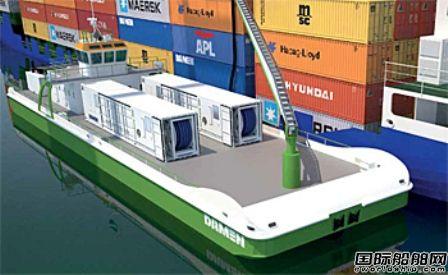 无需安装压载水系统?达门为新造船提供压载水服务