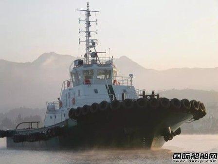华海晟世重工两艘4000马力全回转拖轮开建