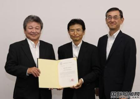 日本船级社颁发LNG动力散货船概念设计原则批复
