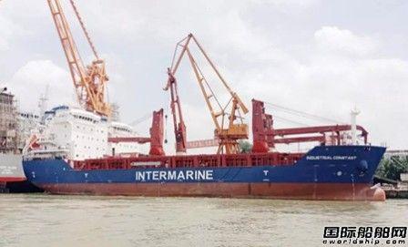 黄埔文冲一艘8400载重吨重吊船命名