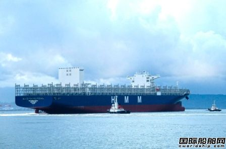 现代商船为首艘新造万箱船安装脱硫系统