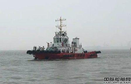 方圆造船交付一艘3000HP全回转拖轮