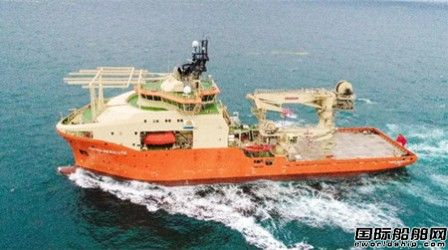 青岛武船首艘RSV水下机器人支持船完成所有海试项目