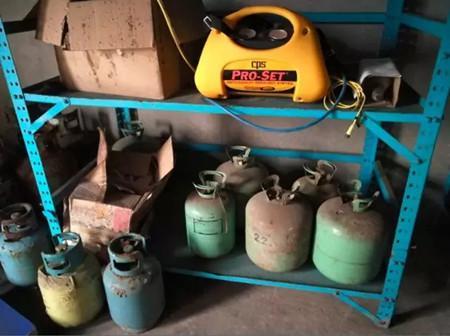 回收制冷剂灭火剂,拆船业助力环保大有可为