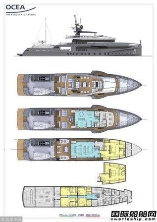 Ocea船厂推出可极地探险豪华游艇