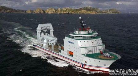 上船院中标世界最先进深远海多功能救助船设计