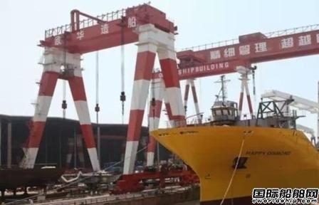 欧华造船正式宣布破产清算