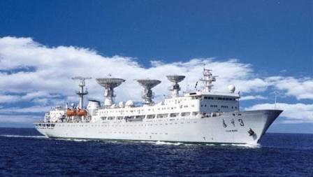 印度秘密打造导弹测量船