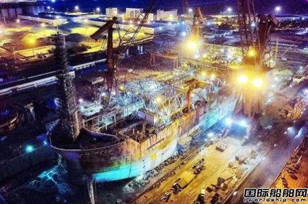 """文冲船坞提前完工交付""""海洋石油111""""号坞修项目"""