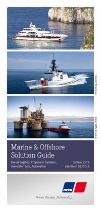 MTU船用发动机(推进与发电)产品手册
